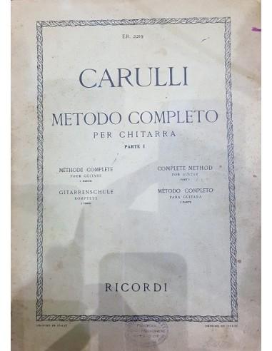 Carulli Metodo per chitarra 1° Parte...