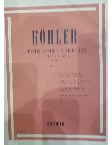 Kohler i primissimi esercizi Op. 190...