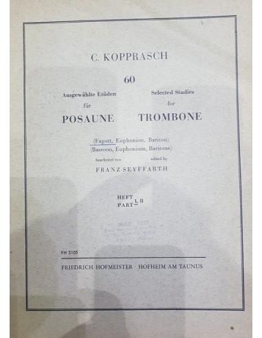 Kopprasch 60 studi per Trombone 1°...