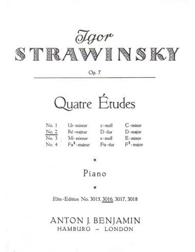 Strawinsky Studio Op.7 N° 02 in Re...