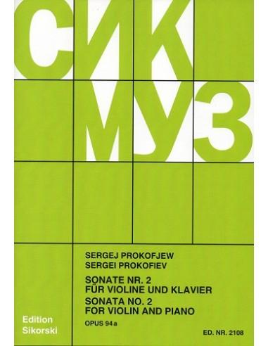 Prokofiev Sonata N. 2 Op. 94A